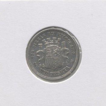1 Peseta 1869 Gobierno Provisional