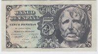 12 Abril 1947. Banco de España. 5 Pesetas