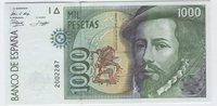12 Octubre 1992. Banco de España. 1000 Pesetas
