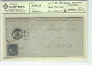 4 Cuartos Azul en Carta Mahon-Barcelona