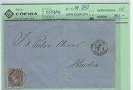 50 Milesimas de Escudo en Carta. Andrais-Alcudia