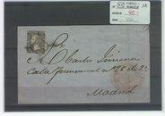 6 Cuartos Negro Carta Cadiz-Madrid
